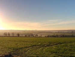 Lincolnshire Wolds from Swaby top 1