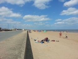 Sutton-on-Sea to Mablethorpe Promenade Cycleway and Beach