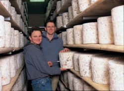 Simon and Tim from Lincolnshire Poacher Cheese