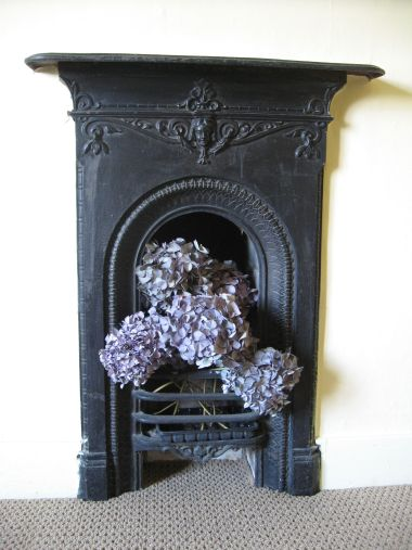 Pheasant fireplace