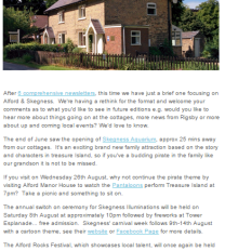 July 2015 Rigsby Wold Holiday Cottage Newsletter