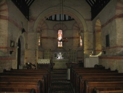 Rigsby St James church interior