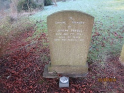 38. In loving memory of JOSEPH PREECE died August 11th 1944 aged 39 years. Unto the perfect day