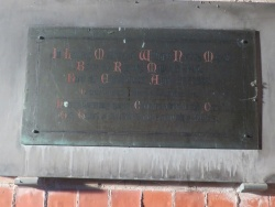 4. In loving memory of WILLIAM NORTON MASON born at Rigsby May let 1840, who died at Eastbourne April 3oth 1906. He wore the white flower of a blameless life. He was for many years Churchwarden of this church. This tablet is erected by his sorrowing widow.
