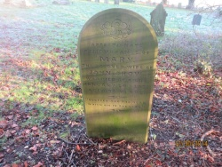 70. MARY wife of John Crow died at Ailby 14th January 1871