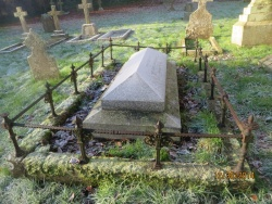 89. THOMAS BRADLEY of Alford died 1st October 1863 aged 61 also MARY his wife born 13th August 1807 died 3rd May 1900