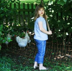 D and our chickens