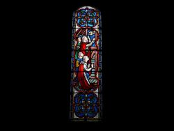 Rigsby Church Stain Glass window1